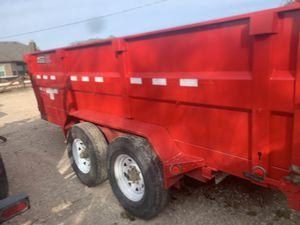 Dump trailer 14x3 for Sale in Dallas, TX