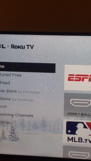 TCL Roku 55in 4K Smart TV for Sale in Troy, MI