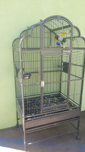 Macaw cockatoo Amazon size bird cage, clean for Sale in Vista, CA