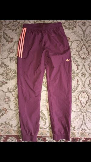 NEW MENS MEDIUM ADIDAS TRACK PANTS for Sale in Huntington Beach, CA