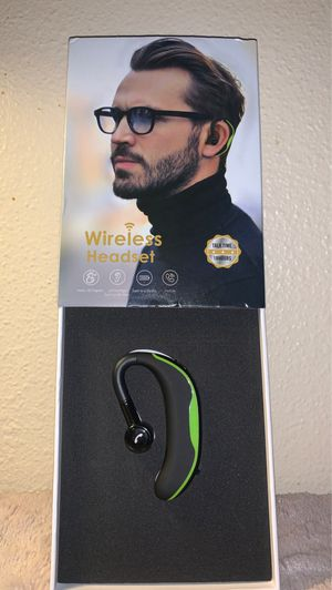 Wireless headset new for Sale in Fresno, CA