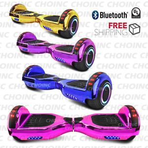 Brand new Bluetooth hoverboard ALL CHROME COLORS BLUETOOTH for Sale in Atlanta, GA
