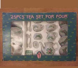 Delton 25pcs tea set for Sale in Posen, IL
