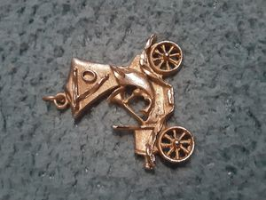 Vintage gold charm for Sale in Murfreesboro, TN