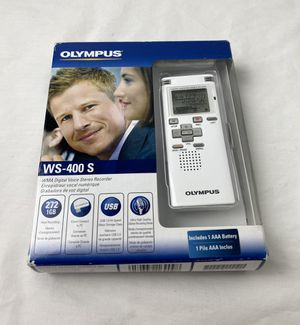 Olympus WS-400 1024 MB 272 Hours Handheld Digital Voice Recorder for Sale in Antioch, CA