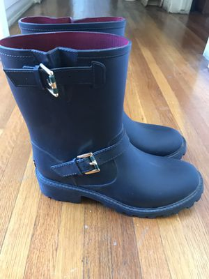 Tommy Hilfiger Women's Rain boots Size 10 for Sale in Downey, CA