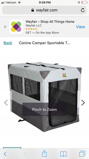 Canine Camper Sportable for Sale in Bellingham, WA
