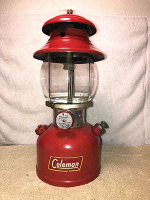 Vintage rare Coleman lantern red 1958 for Sale in Garden Grove, CA