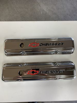 Sbc – Chevrolet chrome valve covers for Sale in Buckley, WA