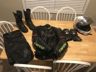 Dainese and shoei motorcycle gear for Sale in Atlanta,  GA