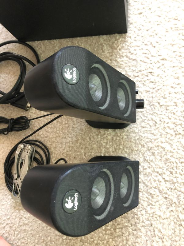 Logitech X-230 2.1 Computer Speakers