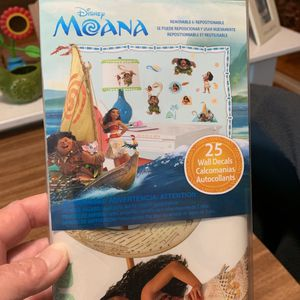 Disney Moana Wall Decals for Sale in Long Beach, CA