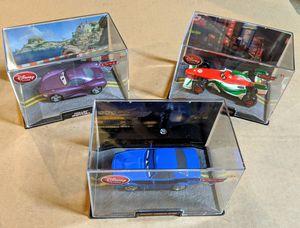Disney Cars 2 die cast metal (1:43 scale), lot of 3 for Sale in Cypress, CA