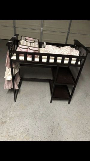 Changing table with extra for Sale in Moreno Valley, CA