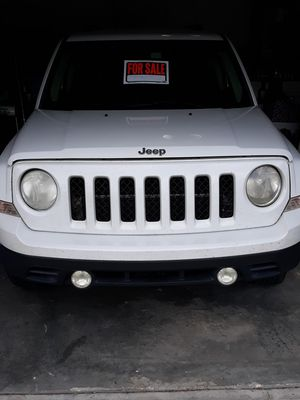 White 2011 Jeep Patriot for Sale in Davenport, FL
