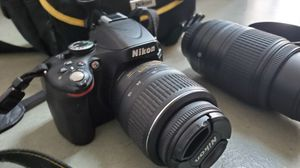 Nikon 5100 camera with extra lenses for Sale in Oakland, CA