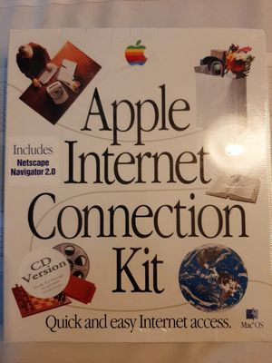 vintage Apple Internet Connection kit sealed for Sale in Downers Grove, IL