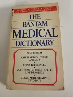 The Bantam medical Dictionary 1990 for Sale in Las Vegas, NV