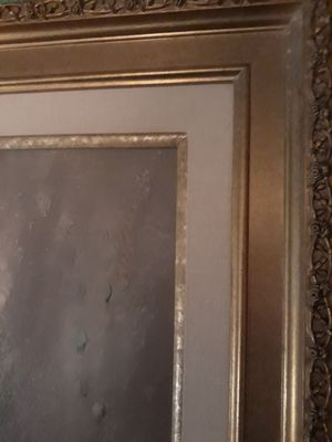 Picture in gold frame for Sale in Chicago, IL