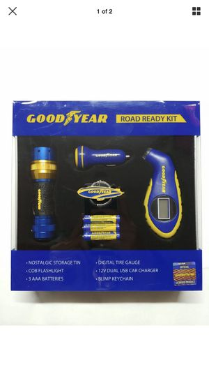 Goodyear Road Ready Kit With GoodYear Blimp KeyChain for Sale in Sioux Falls, SD