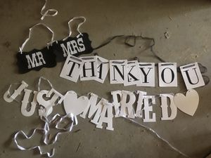 Wedding photo props for Sale in Pine River, MN