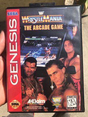 SEGA Genesis : WarestleMania - The Arcade Game for Sale in Hemet, CA