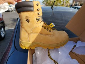 Steel toe work boots size 8 (brand new) for Sale in Las Vegas, NV