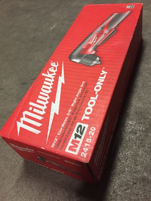 """$50 • Milwaukee M12 Cordless 3/8"""" Right Angle Drill • Tool Only for Sale in Los Gatos, CA"""