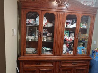 Real wood hutch for Sale in Lacey,  WA
