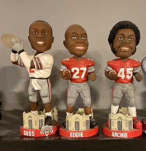 Ohio State Buckeyes Bobble Heads, all come with original packaging. for Sale in Mason, OH
