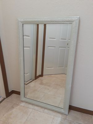 Light Green/white Mirror for Sale in Berea, OH