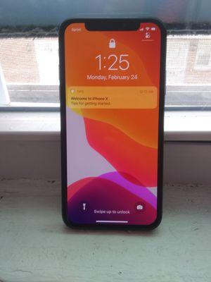Iphone X 64gb $400 for Sale in Philadelphia, PA