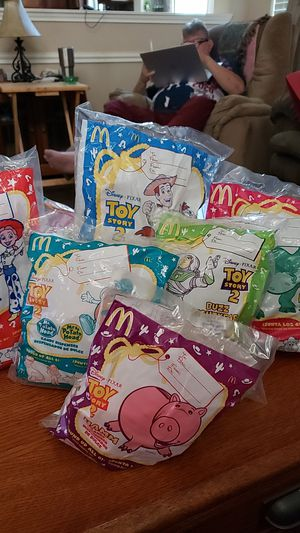 Toy Story 2 McDonald's 6 piece collection for Sale in Round Rock, TX