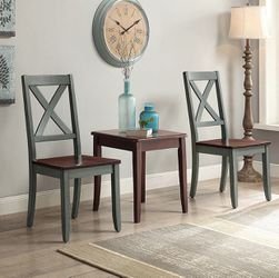 Brand New Rustic Farmhouse Side Accent Dining Chair (Set Of 2) for Sale in Dunwoody, GA