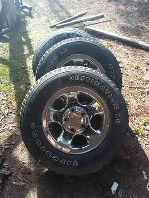 Dodge truck rims and caps for Sale in Cohutta, GA