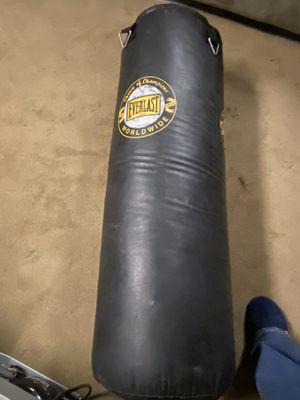 Everlast 50lb kick/punching bag for Sale in Orange, CA