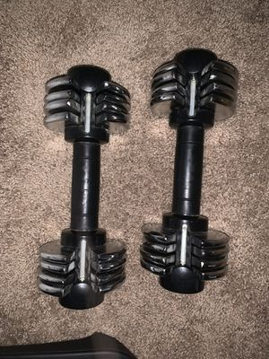 Adjustable weights for Sale in Tampa, FL