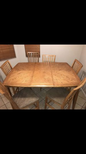 Dining room table/chairs for Sale in Buckeye, AZ