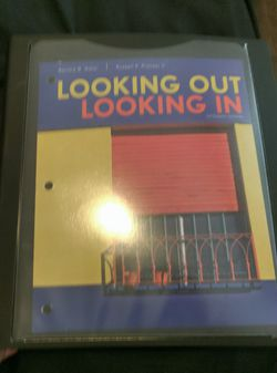 Looking out Looking in Fifthteenth Edition College Textbook for Sale in Vancouver,  WA