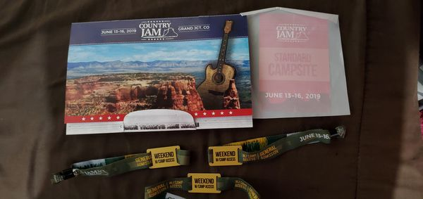 Free Tickets Country jam 2019 grand jct co