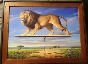 Phil Singer Art - framed for Sale in Chicago, IL