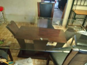 Glass kitchen table for Sale in Omaha, NE