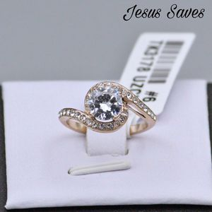 TK3178 Steel Rose Gold IP Twist Ring Size 5 only for Sale in Fresno, CA