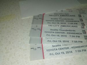 Tri city Americans game for Sale in Kennewick, WA