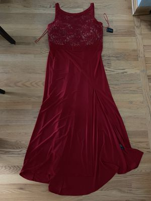 Red evening dress for Sale in Elk Grove Village, IL