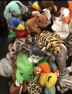 Lot Of Rare Retired TY Beanie Babies All In Mint Condition for Sale in Franklin, TN