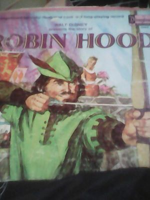 1970 A magnificent full color illustrated book and long playing Album. collectible Robin Hood 1970 for Sale in Baldwin Park, CA