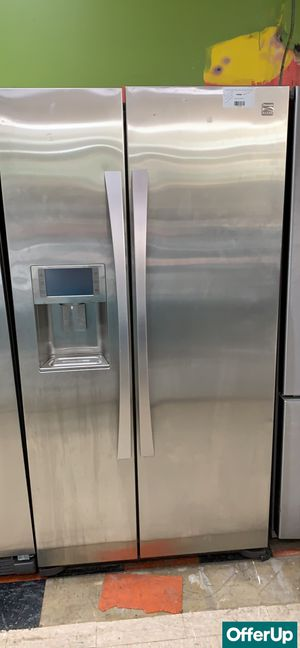 🚀🚀🚀Side by Side Refrigerator Fridge Kenmore Stainless Steel #777🚀🚀🚀 for Sale in Orlando, FL