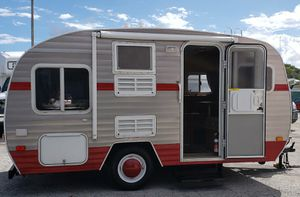 2012 13Ft, White Water retro sleeps 4 ready to go camping for Sale in Hollywood, FL