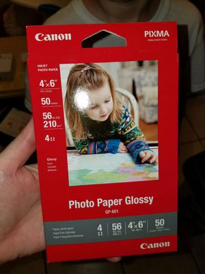 Brand new canon photo paper 50 count for Sale in Tampa, FL
